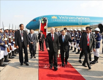top vietnamese leader starts state visit to cambodia