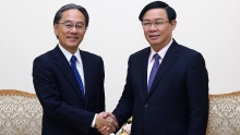 deputy pm meets with aeon financial service chairman