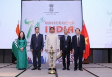 indian republic day celebrated in ho chi minh city