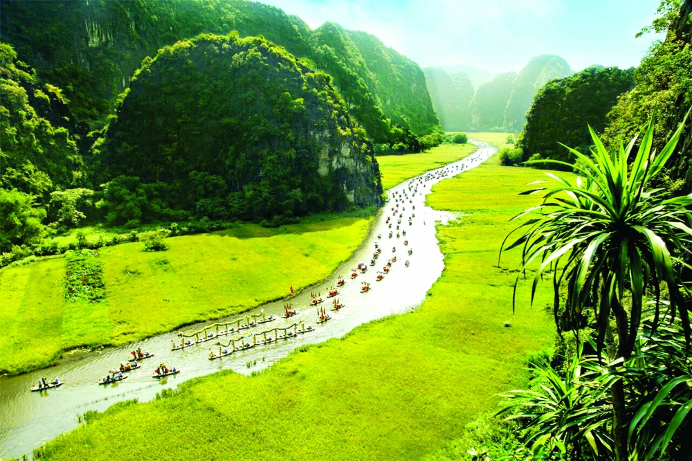 raising the brand value of the trang an landscape complex