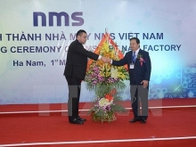 japanese funded plant inaugurated in ha nam