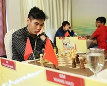 minh wang share top place at chess tourney