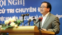 hanoi party chief pledges to support student start up ideas