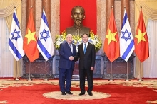 vietnamese israeli presidents hold talks