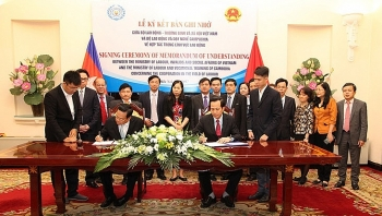 vietnam cambodia ink mou on labor cooperation