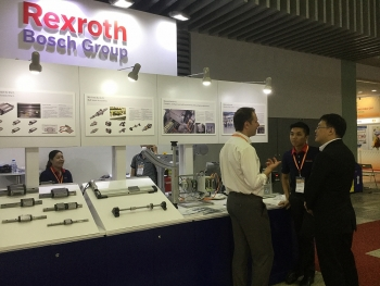 bosch rexroth presents high technology at propak vietnam 2017
