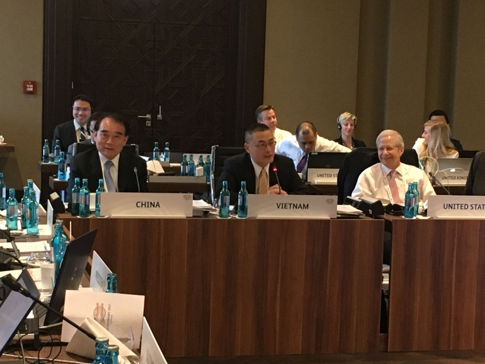 vietnam active in g20 senior officials meeting in germany