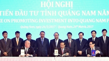 quang nam holds conference promoting investment