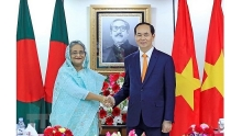 vietnamese bangladeshi leaders hold talks