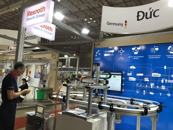 bosch rexroth displays solutions for processing and packaging at propak vietnam 2018