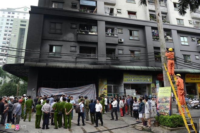 police launch criminal probe into deadly fire at saigon apartment building