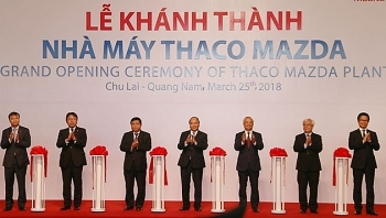 pm attends inaugural ceremony of thaco mazda plant