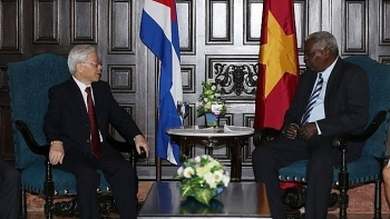 party chief urges vietnam cuba to bolster economic cooperation