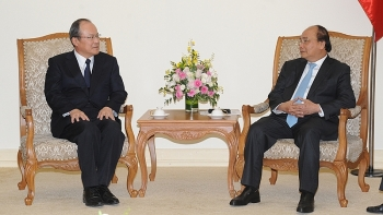 pm urges japans mitsubishi to expand investment in vietnam