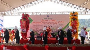 works start on first high tech logistics facility in da nang