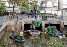 hcmc to spend 12 million on canal clean up