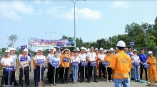 vung tau gas processing company organizes social activities in early 2019