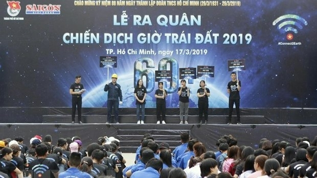 earth hour campaign starts in ho chi minh city