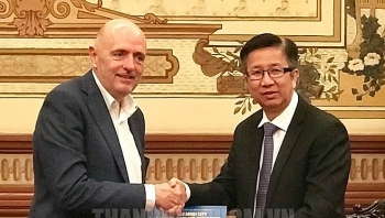 ho chi minh city keen to increase exchanges with belgian localities