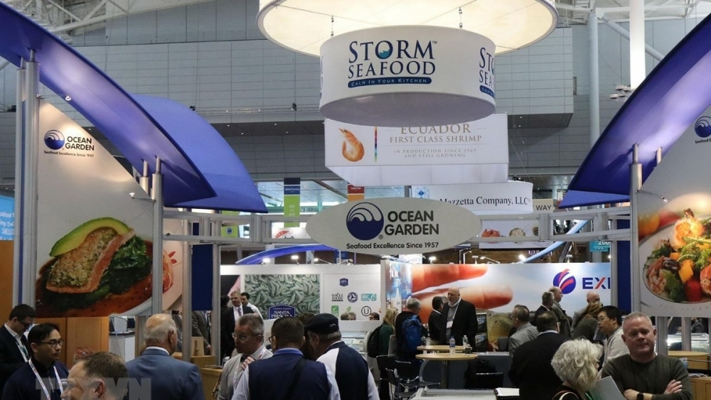 15 vietnamese enterprises attend seafood expo in boston