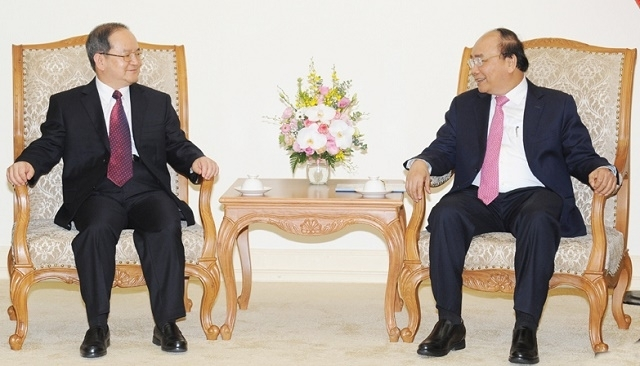 prime minister meets party chief of guangxis zhuang autonomous region