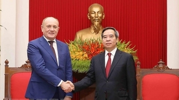 gazprom hailed for contributions to vietnam russia relations