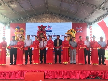 mekong deltas largest beverage factory becomes operational