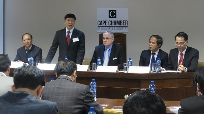 vietnam south africa business dialogue held in south africa