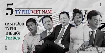 five vietnamese among worlds richest forbes rankings