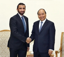 pm calls on uae firm to expand investment in vietnam