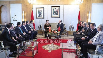 na chairwoman nguyen thi kim ngan begins official visit to morocco