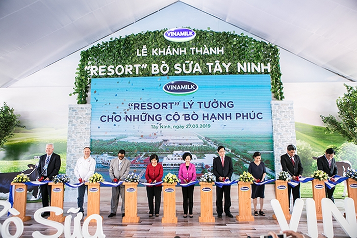vinamilk inaugurates vietnams largest dairy cow farm in tay ninh