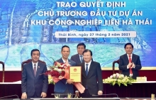 deputy pm asks thai binh to facilitate lien ha thai ip development
