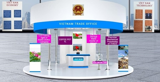 vietnamese products on show at indias engineering technology fair