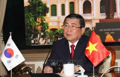 hcm city roks jeollabuk province eye cooperation in startup high tech agriculture