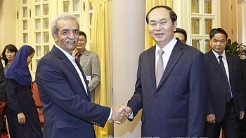 vietnam iran vow support to achieve us 2 billion trade