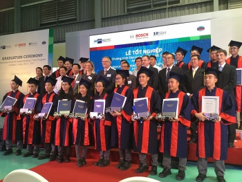 first generation of bosch apprentices graduates