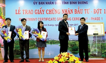 binh duong province ahead of investment