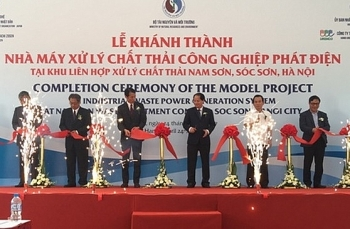 pioneering industrial waste power generation plant opens in vietnam