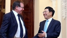 vietnam new zealand look forward to stronger ties