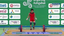 vietnamese wins gold at asian weightlifting champs