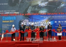 contech vietnam 2017 opens attracts foreign manufacturers