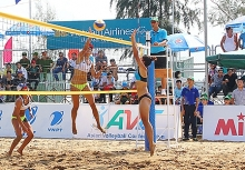 can tho ready for asian womens beach volleyball championships