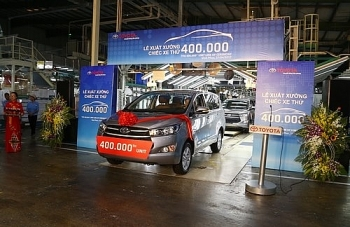 toyota vietnam produces 400000th car