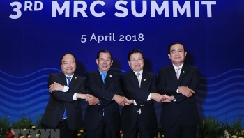 pms summit attendance affirms vietnams commitment to mrc cooperation