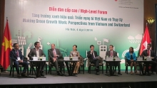 vietnam switzerland share experiences in making green growth work