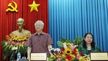 party chief commends an giang for clear orientations for development