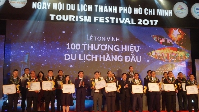 top 100 tourism brands in ho chi minh city honored