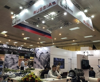 russias key products displayed at vietnam expo 2018
