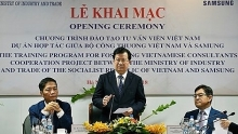samsung urged to support vietnamese enterprises in supporting industry
